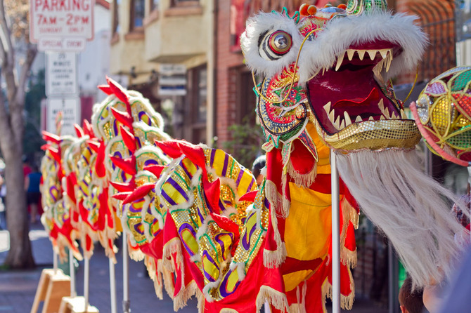San Diego Chinese New Year Dragon